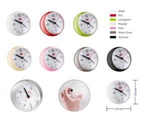 WESCO 322411 Mini Clock mit Timer Wesco Küchenuhr NEUE FARBEN