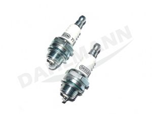 2x Zündkerze (WSR6F) für STIHL Motorsäge 018 MS 180