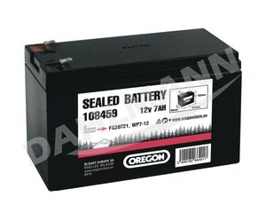 Batterie Gel Akku 12 Volt 7 Ah für CASTEL GARDEN Aufsitzmäher XE 70