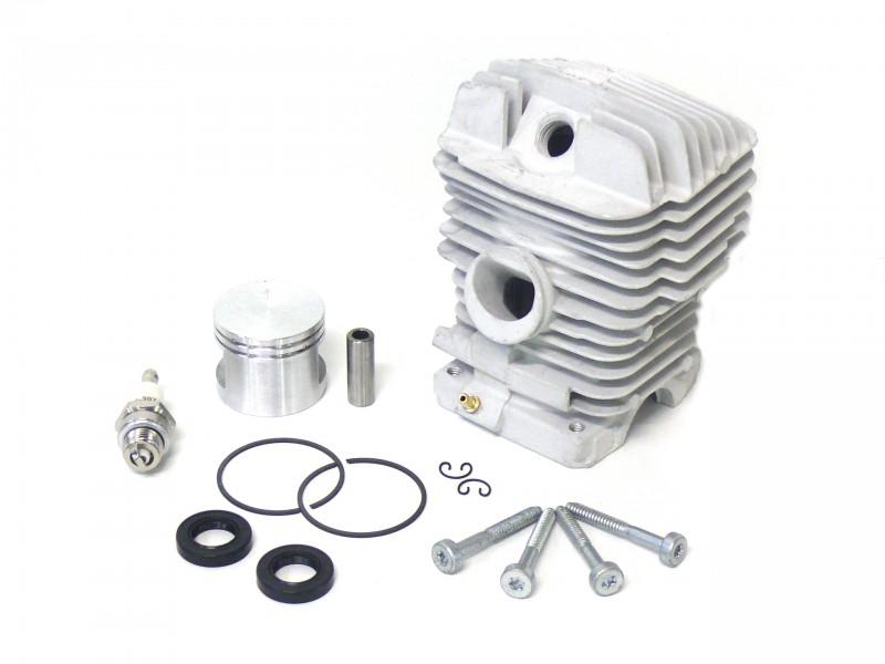 kolben zylinder 49 mm f r stihl motors ge ms 390 kettens gen ersatzteile ersatzteile f r stihl. Black Bedroom Furniture Sets. Home Design Ideas