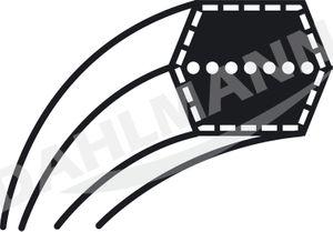 Keilriemen Mähwerk für DOLMAR Rasentraktor TM-92.14 H