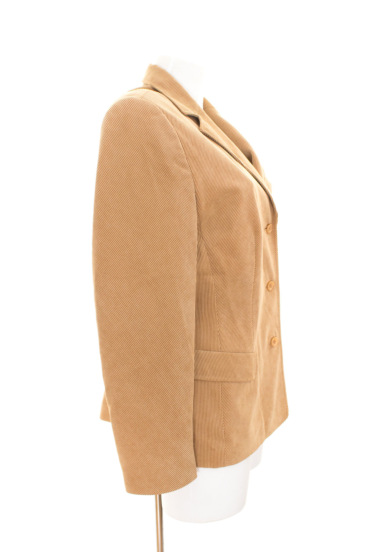 GERRY WEBER Blazer Gr. DE 40 Damen Casual Cord Jacke Jacket
