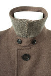 HUGO BOSS Mantel Coat Trenchcoat mit Wolle Herren Gr. 46 in Braun
