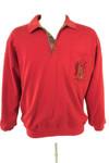 GOLFINO Langarmshirt Longsleeve Shirt Baumwolle Herren Gr. M in Rot