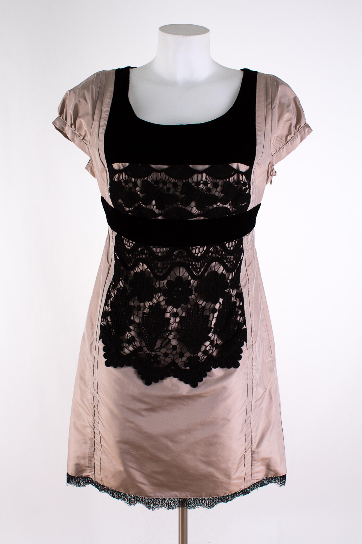 details zu christian lacroix pour la redoute neu gr. 40 seide abendkleid  silk dress robe