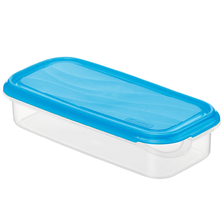 Kühlschrankdose eckig, flach, 0.75 l RON