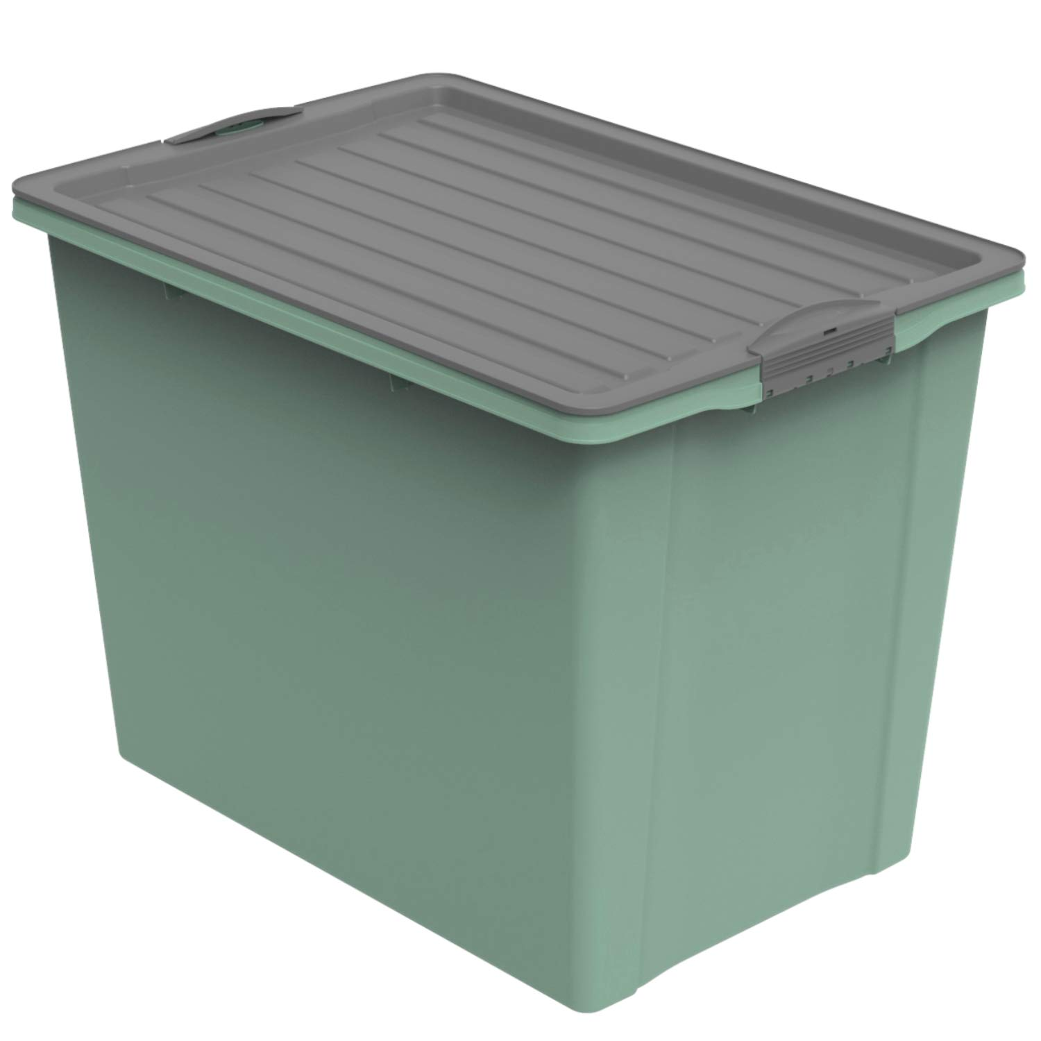 Stapelbox A3 mit Rollen, 70 l COMPACT ECO