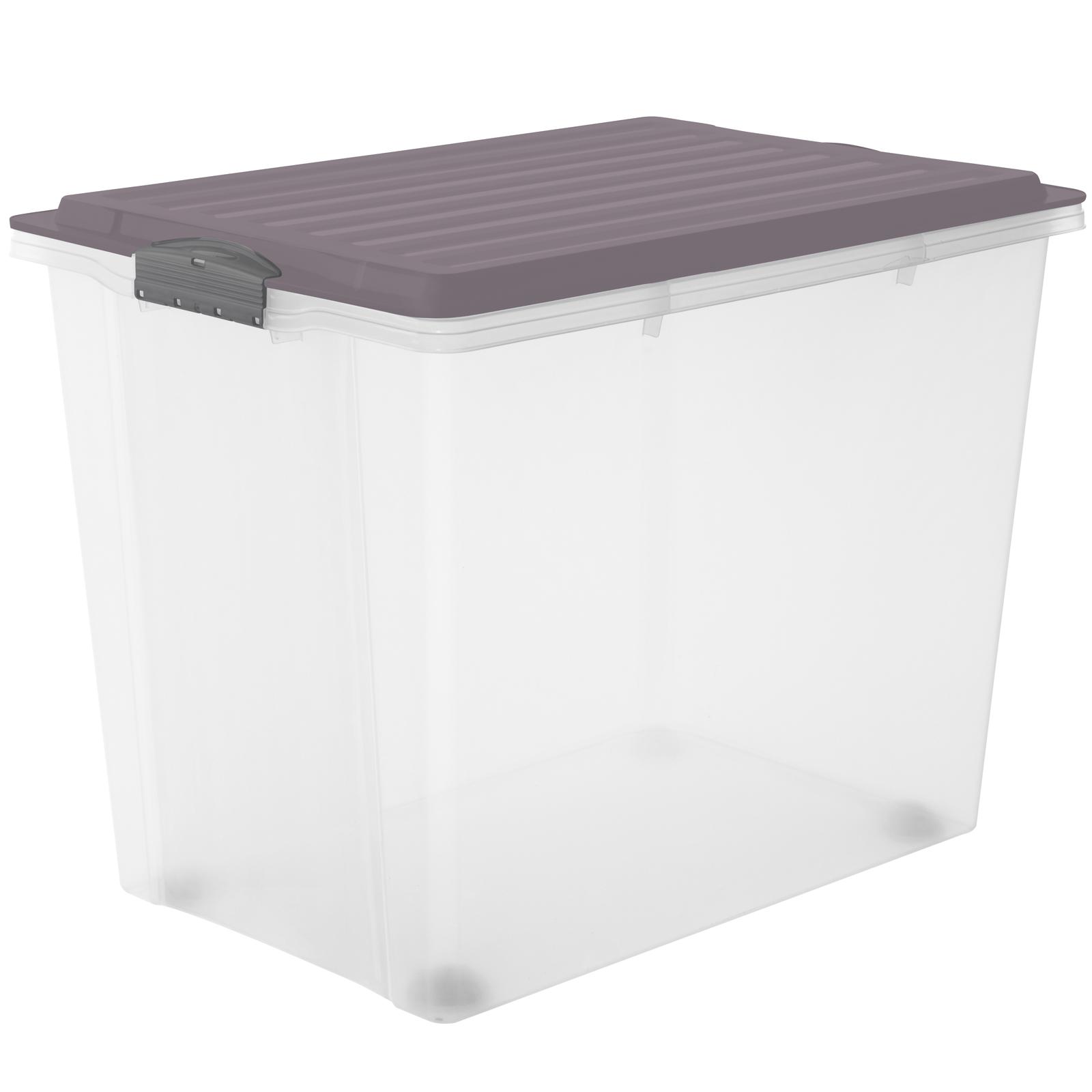 Stapelbox A3 mit Rollen, 70 l COMPACT