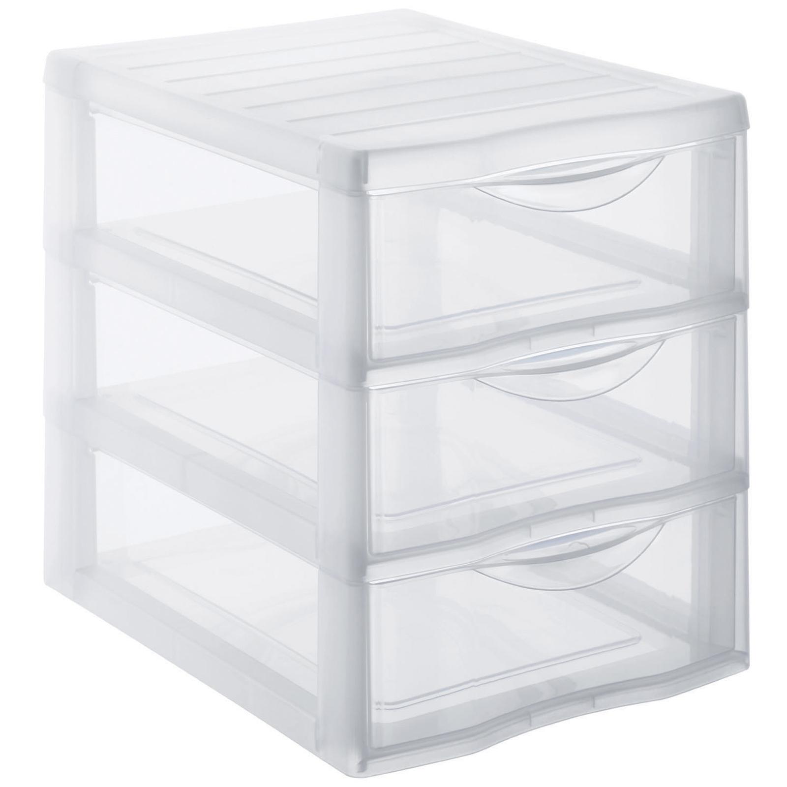 Schubladenbox A5, 3 Schübe ORGAMIX