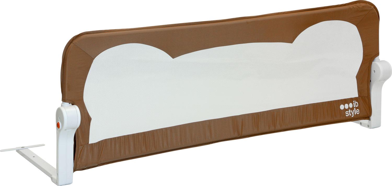 Kinder Stoff 4 Farben Babybett ib style Bettgitter Rei/ßfest /& Sto/ßsicher Bettgitter Finn 4 Abmessungen Kinderbett Bed-Rail Farbe: Sandy 120 x 42 cm Schlafen Fallschutz