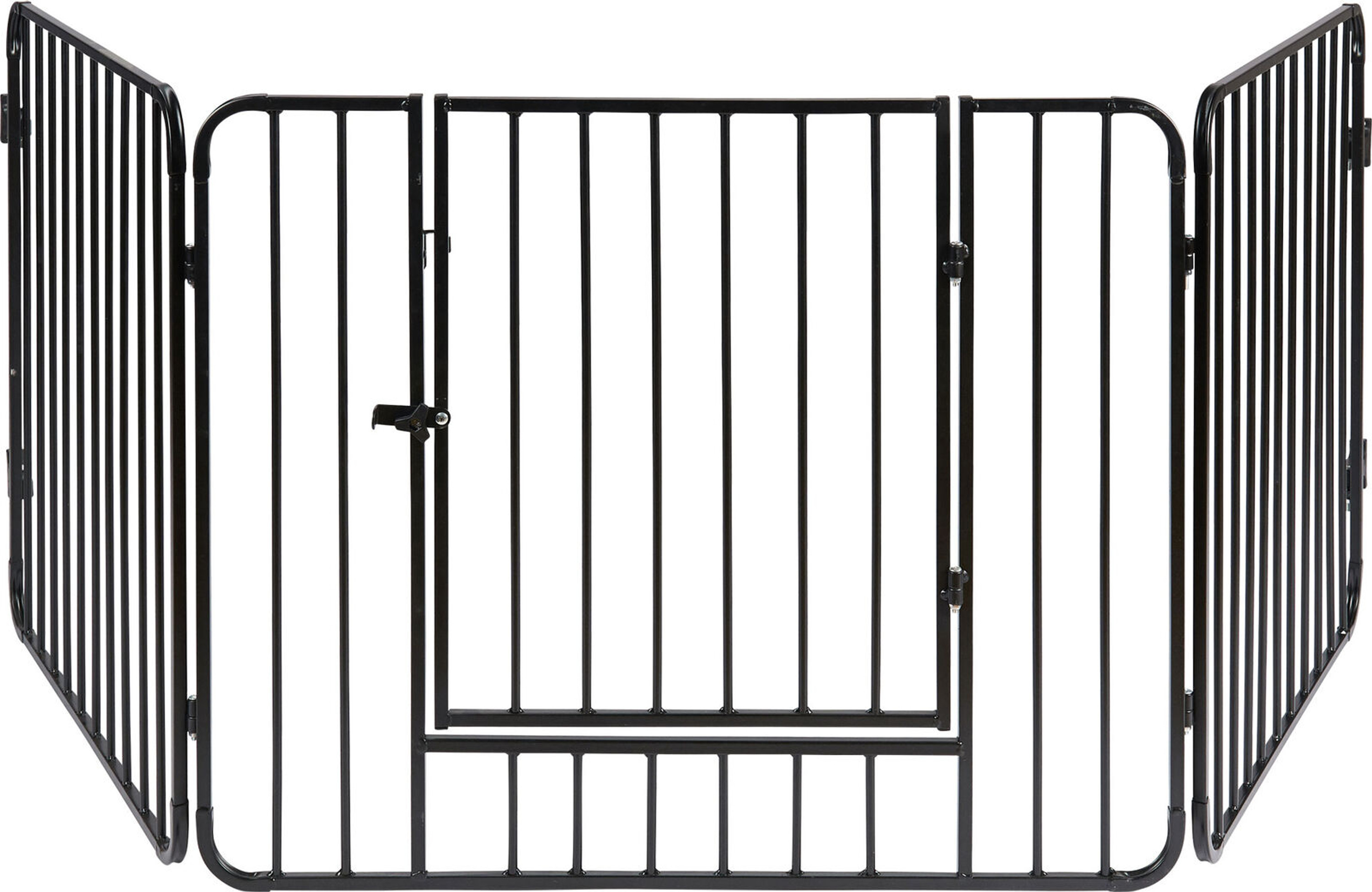 ib style® Blake fire guard hearth gate safety gate door with safety lock  235cn