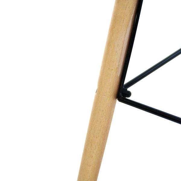 Retro Sessel Regie Schalenstuhl Pop Art Deco Esszimmer Stuhl Stühle Holz Vintage – Bild 3