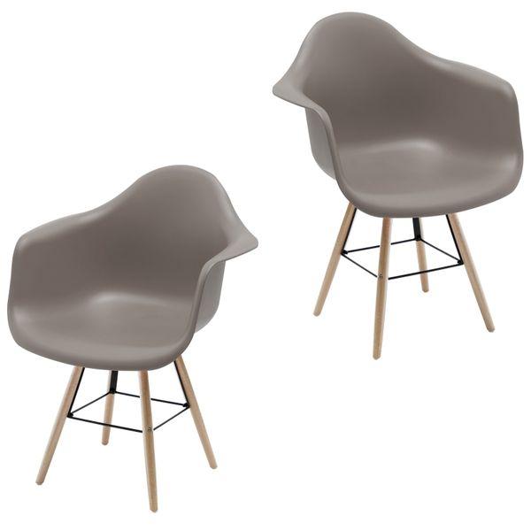 Retro Sessel Regie Schalenstuhl Pop Art Deco Esszimmer Stuhl Stühle Holz Vintage – Bild 23