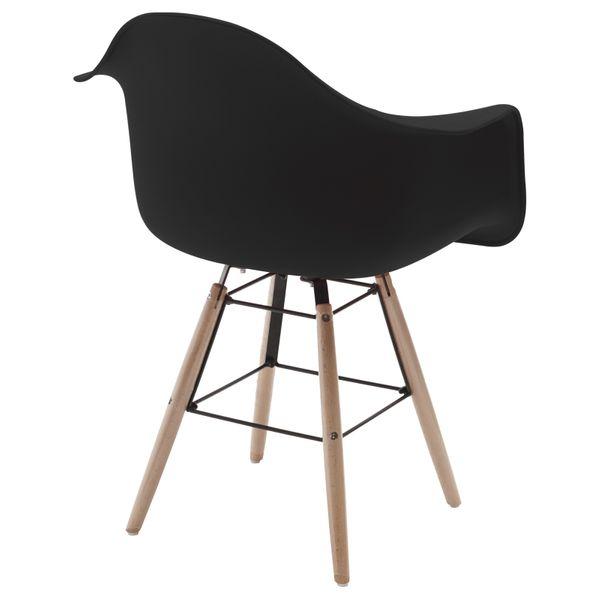 Retro Sessel Regie Schalenstuhl Pop Art Deco Esszimmer Stuhl Stühle Holz Vintage – Bild 20