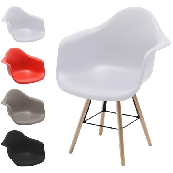 Retro Sessel Regie Schalenstuhl Pop Art Deco Esszimmer Stuhl Stühle Holz Vintage – Bild 1