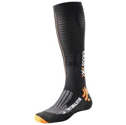 X-Socks Accumulator Run Kompressionssocke Laufsocken Socken X20386 Schwarz