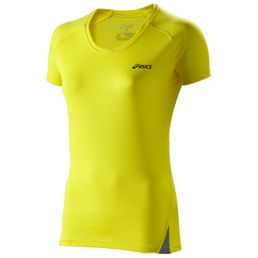 Asics Fuji Light Top Damen Laufshirt 110564-0343 Yellow