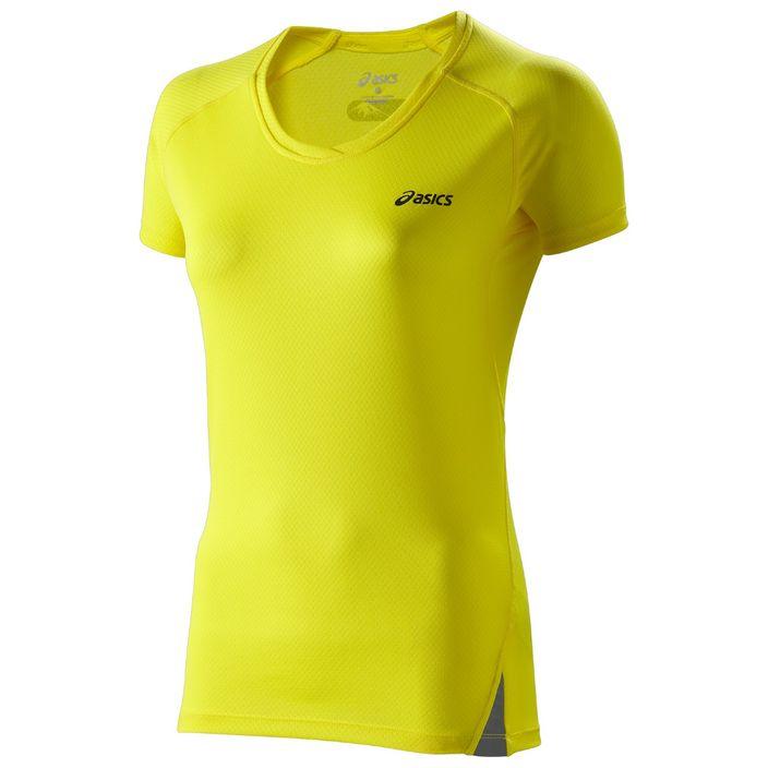 Asics Fuji Light Top Damen Laufshirt 110564-0343 Yellow