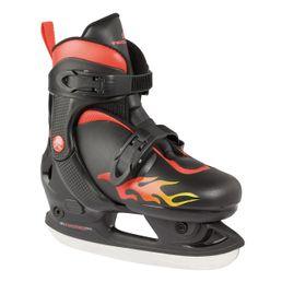 TecnoPro Mike Kinder Schlittschuhe Ice Skates schwarz/rot 4024703