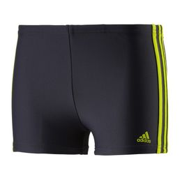 adidas Performance I 3S BX Y Jungen Boxer Badehose Badeboxer Hose Grey/Green S22944