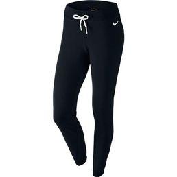 Nike Damen Pant Cuffed Fitnesshose Sporthose Pants Schwarz 617330-010