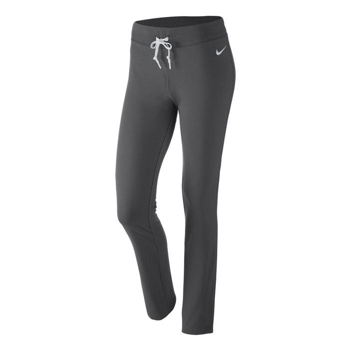 Nike Damen Fitnesshose Sporthose Pants Jersey Grau 614920-071