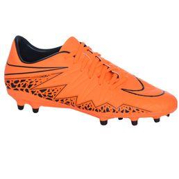 Nike Herren Fußballschuhe Hypervenom Phelon II FG Wolf Total Orange