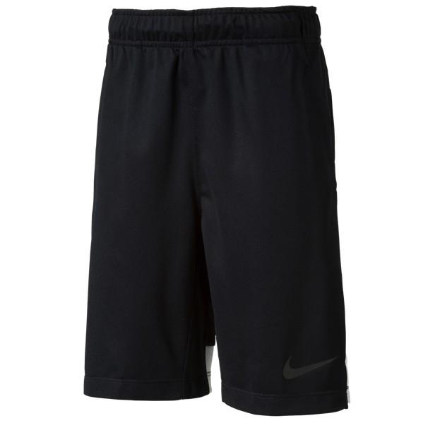 Nike Hyperspeed Knit Short Kinder Hose Sporthose Fitnesshose 724410 Black/White