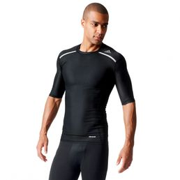adidas Perfomance TF Chill Tee Techfit Funktionsshirt Compression Fussball Shirt Black AJ5705