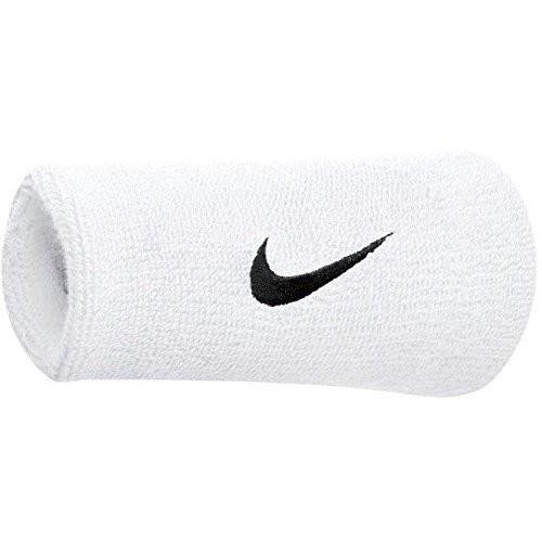 Nike Schweißbänder Swoosh Doublewide ONE SIZE Weiß Unisex