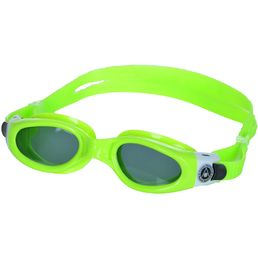 Aqua Sphere Kaiman Small Schwimmbrille Brille Lime Dark Lens