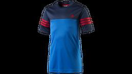 adidas Performance Kinder T-Shirt Testa PES TEE Sport Shirt Shoblue