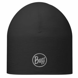 Buff Single Layer Coolmax Hat Laufmütze Mütze schwarz