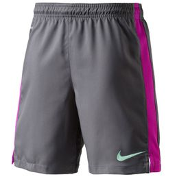 Nike Strike Longer Woven Short Herren Hose Sporthose Fussballhose Dark Grey