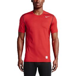 Nike Pro Hypercool Fitted Herren T-Shirt Laufshirt Sportshirt University Red