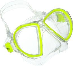 AquaLung Duetto LX Maske Yellow Tauchmaske Erwachsene Taucherbrille