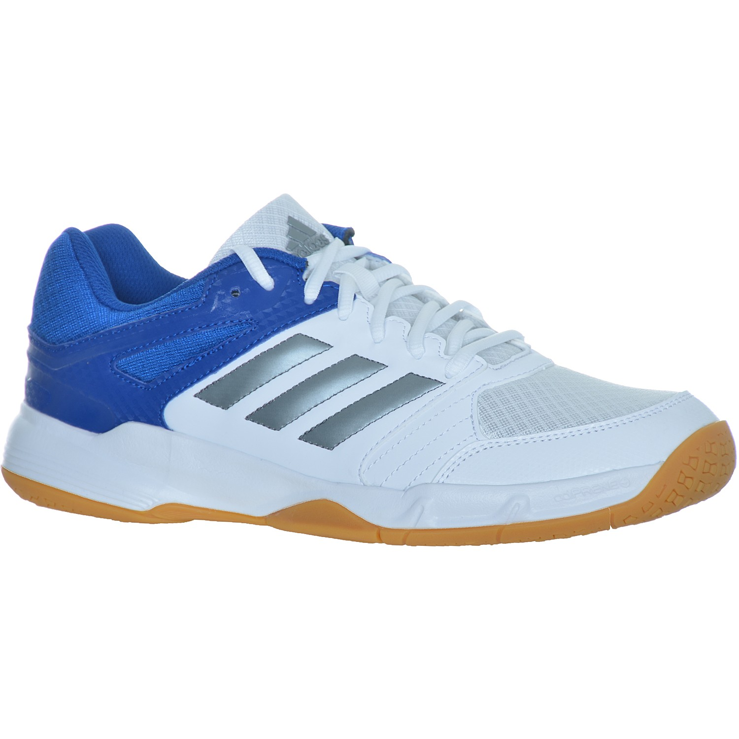 adidas perfomance speedcourt men herren hallenschuhe weiss blau ebay. Black Bedroom Furniture Sets. Home Design Ideas