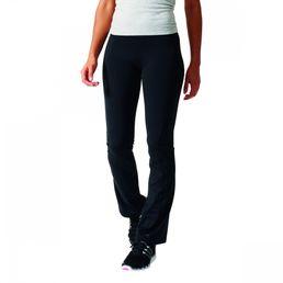 adidas Perfomance Workout Pant Straight Damen Fitnesshose Sporthose Hose Black/White