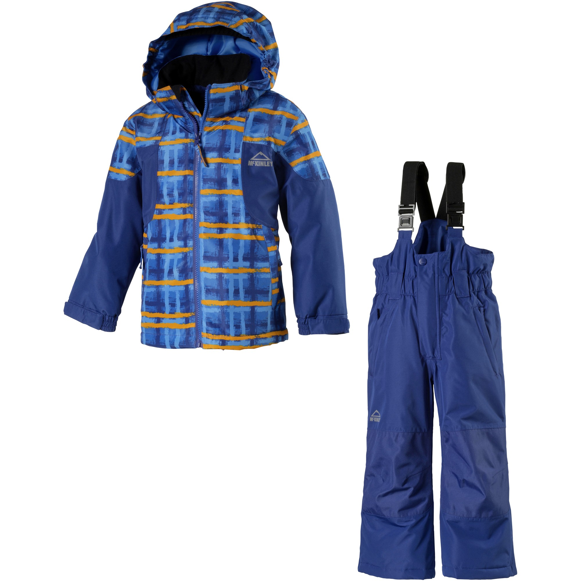 mckinley kinder winter schneeanzug kids rufus ray overall ski ebay. Black Bedroom Furniture Sets. Home Design Ideas