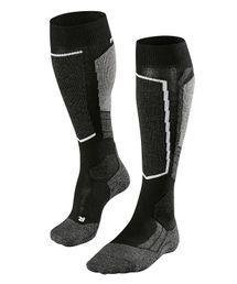 Falke SK2 Skistrumpf Damen Skisocken Socken schwarz