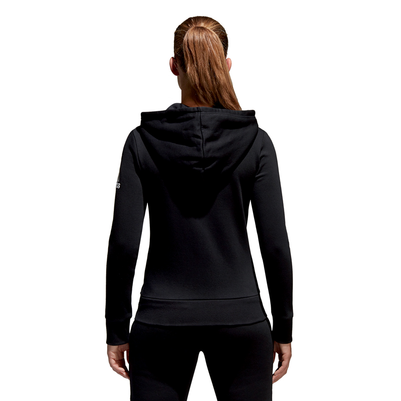 adidas performance damen jacke ess solid sweatjacke women. Black Bedroom Furniture Sets. Home Design Ideas
