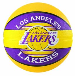 Spalding Basketball LA Lakers Größe 7 Indoor/Outdoor Ball