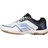 Pro Touch Rebel Herren Hallenschuhe Black/White/Blue – Bild 2