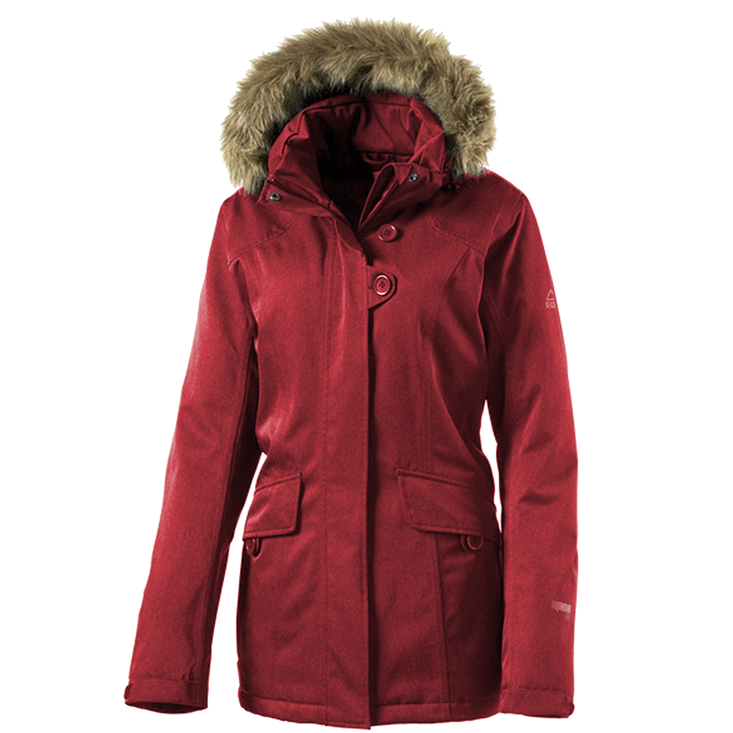 mckinley mount allen winterjacke damen jacke red wine ebay. Black Bedroom Furniture Sets. Home Design Ideas