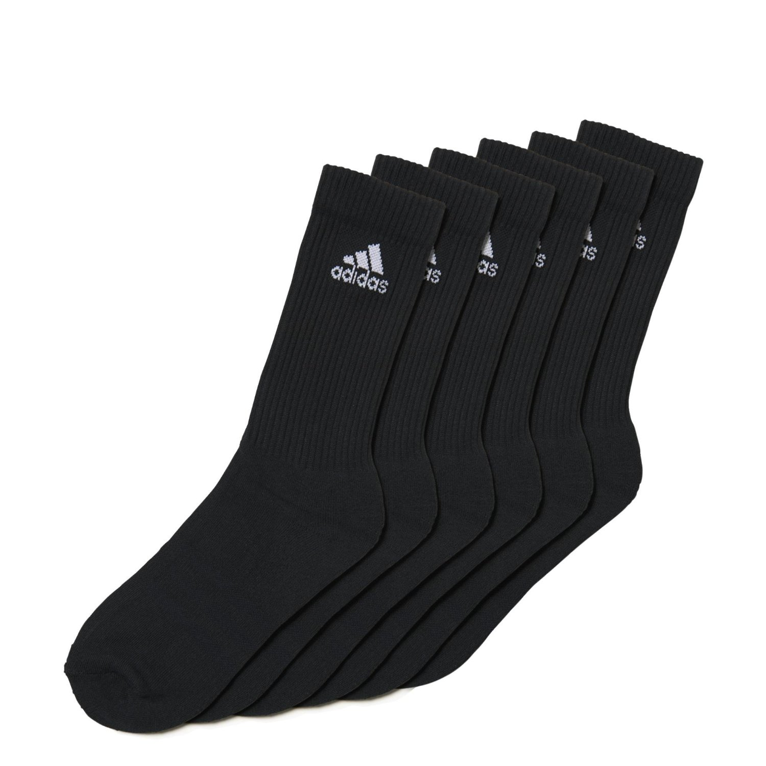 official images great deals reliable quality adidas Unisex Socken 3-Streifen Crew, 6er-Pack | eBay