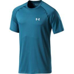 Under Armour UA Tech SS Tee  Herren Fitness T-Shirt tourmaline teal