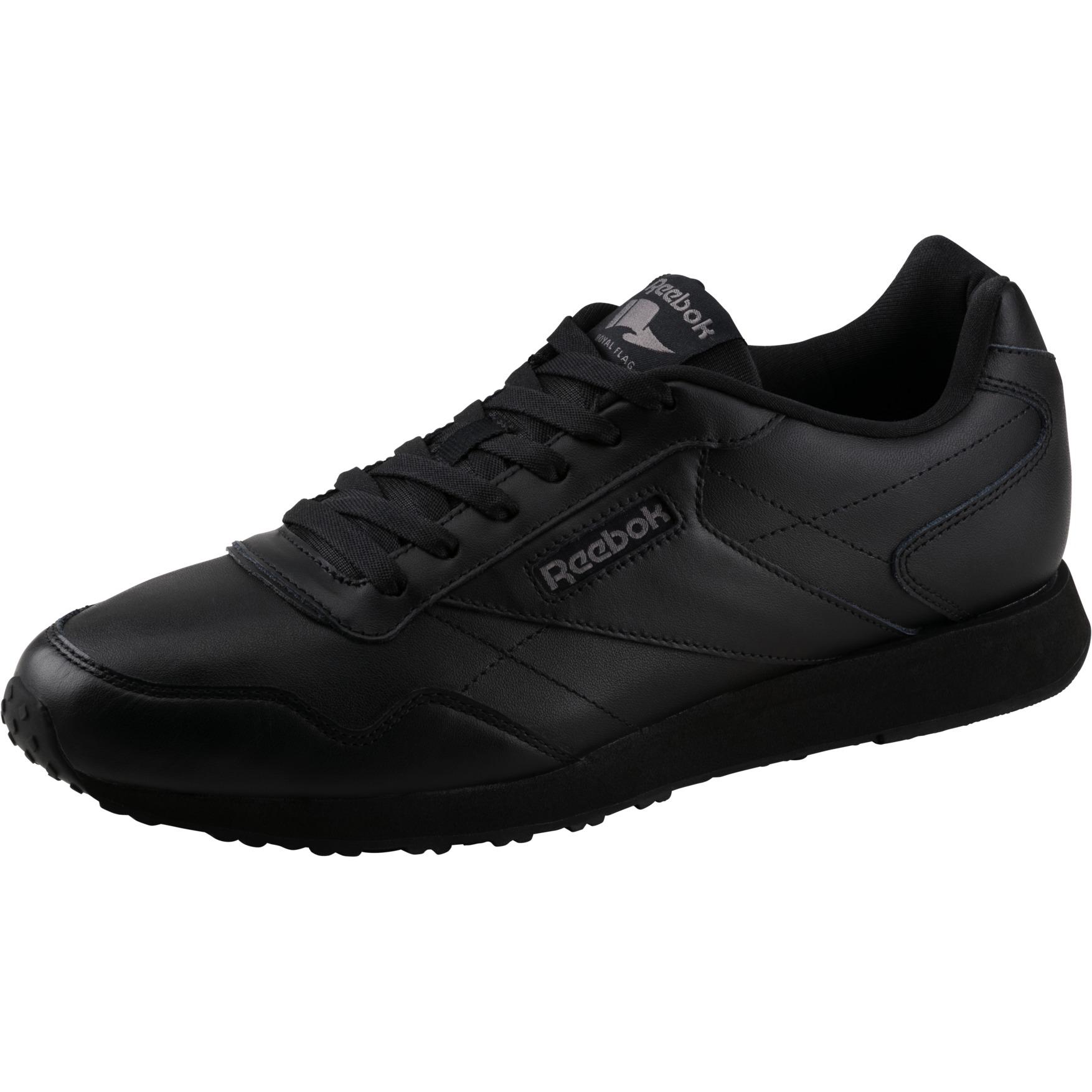 Reebok Royal Glide LX Herren Sneaker Leder Sportschuh Freizeitschuhe schwarz NEU