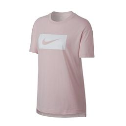 NIKE Damen T-Shirt W NSW Barely Rose