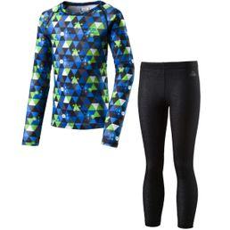 McKinley Kinder Wäscheset Yahto/Yaal AOP/Blue Royal/Green Lime
