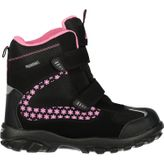 McKINLEY Snowtime Mädchen Winterstiefel Black/pink light 001
